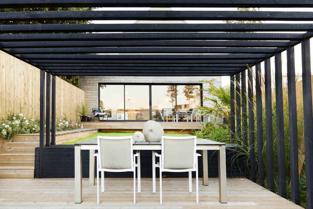 Pergola contemporaine