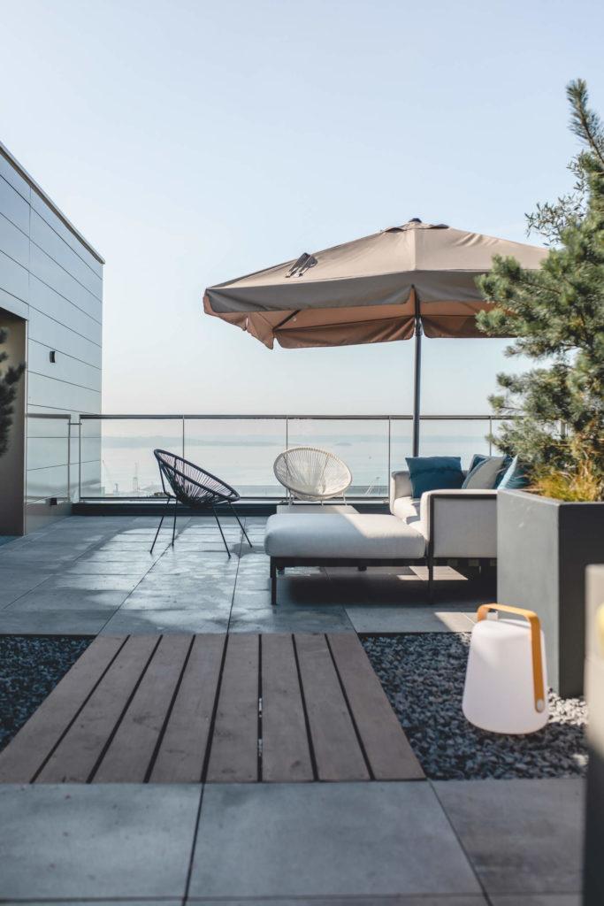 Terrasse rooftop