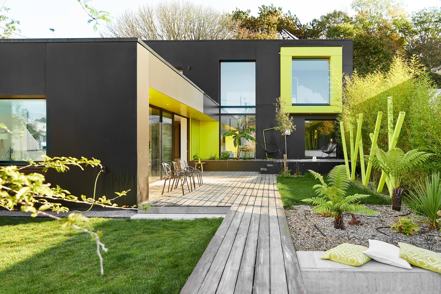 Trespa maison d'architecte à Brest