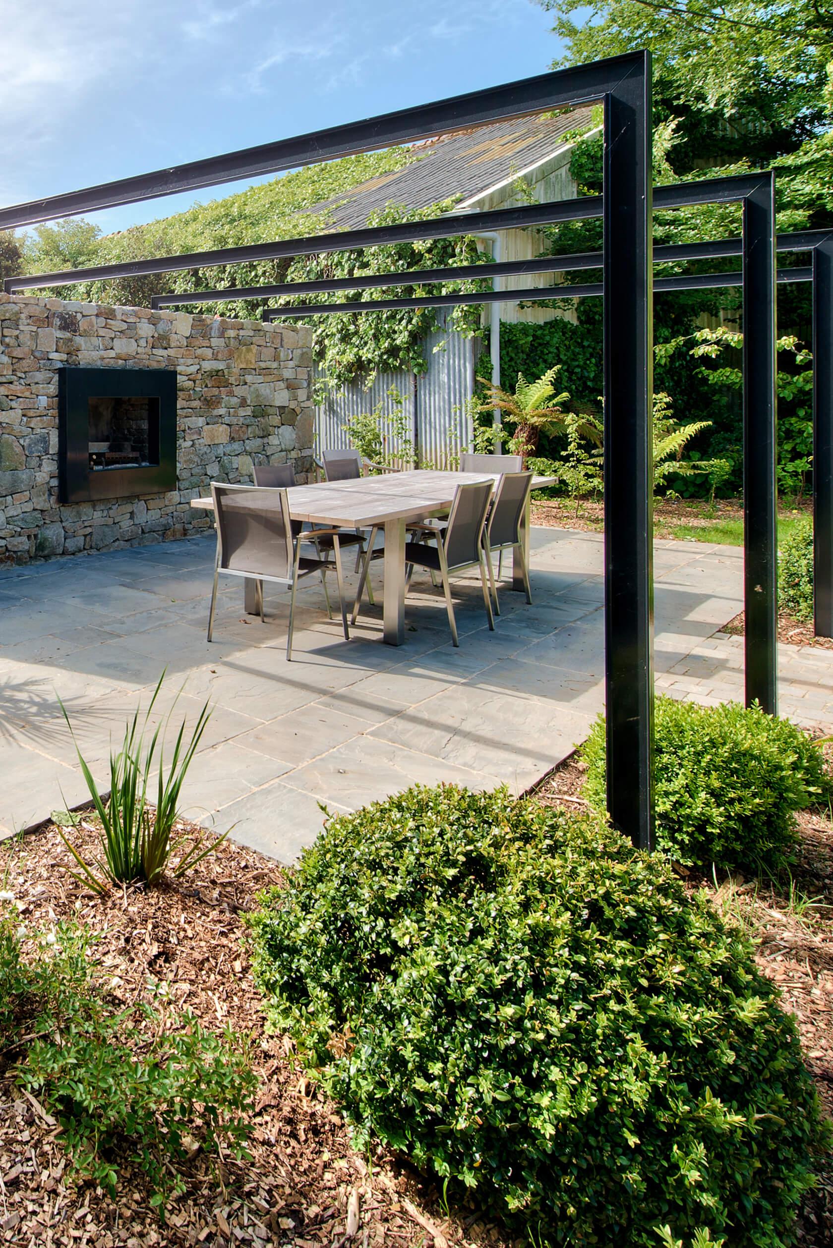 ferme bretonne : aménagement jardin finistère