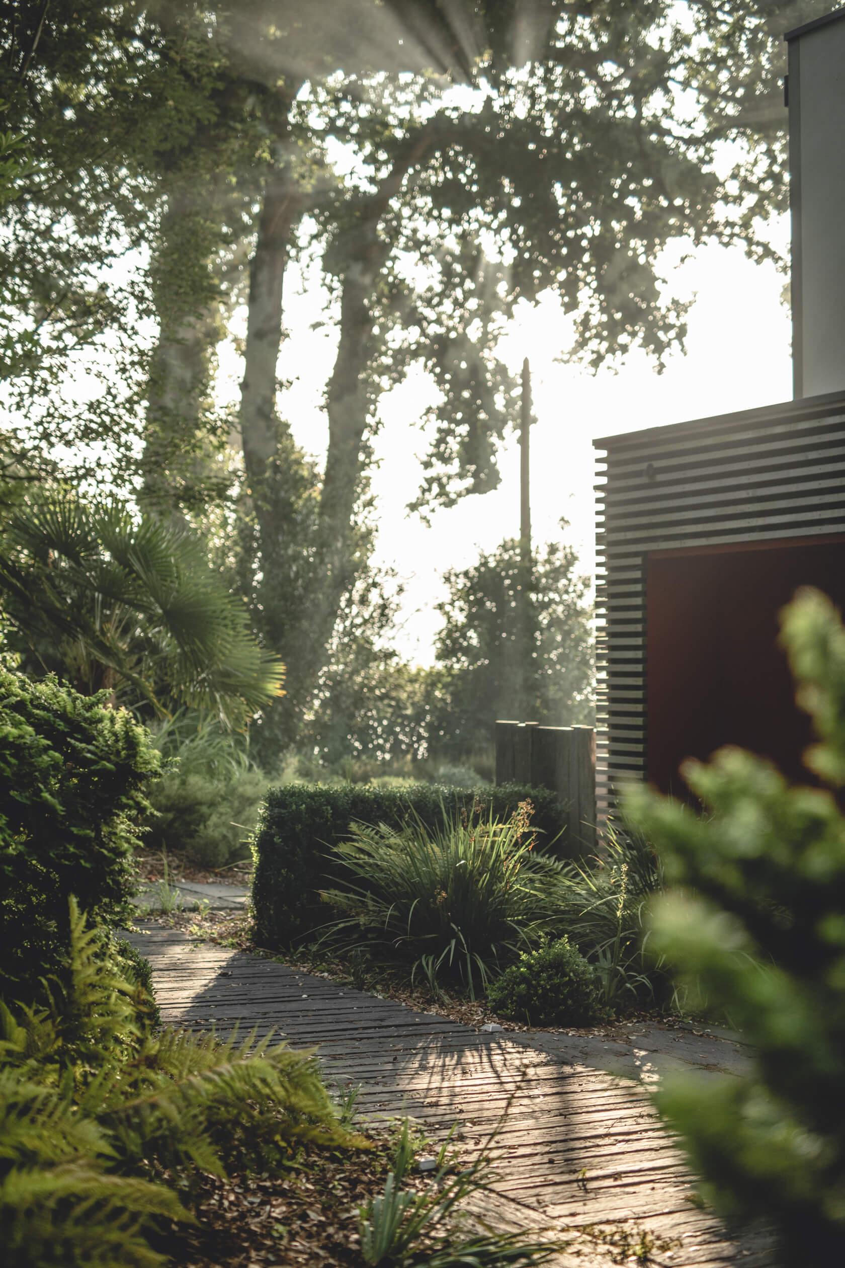 Jardin Paysager relecq kerhuon Vue sur l'elorn