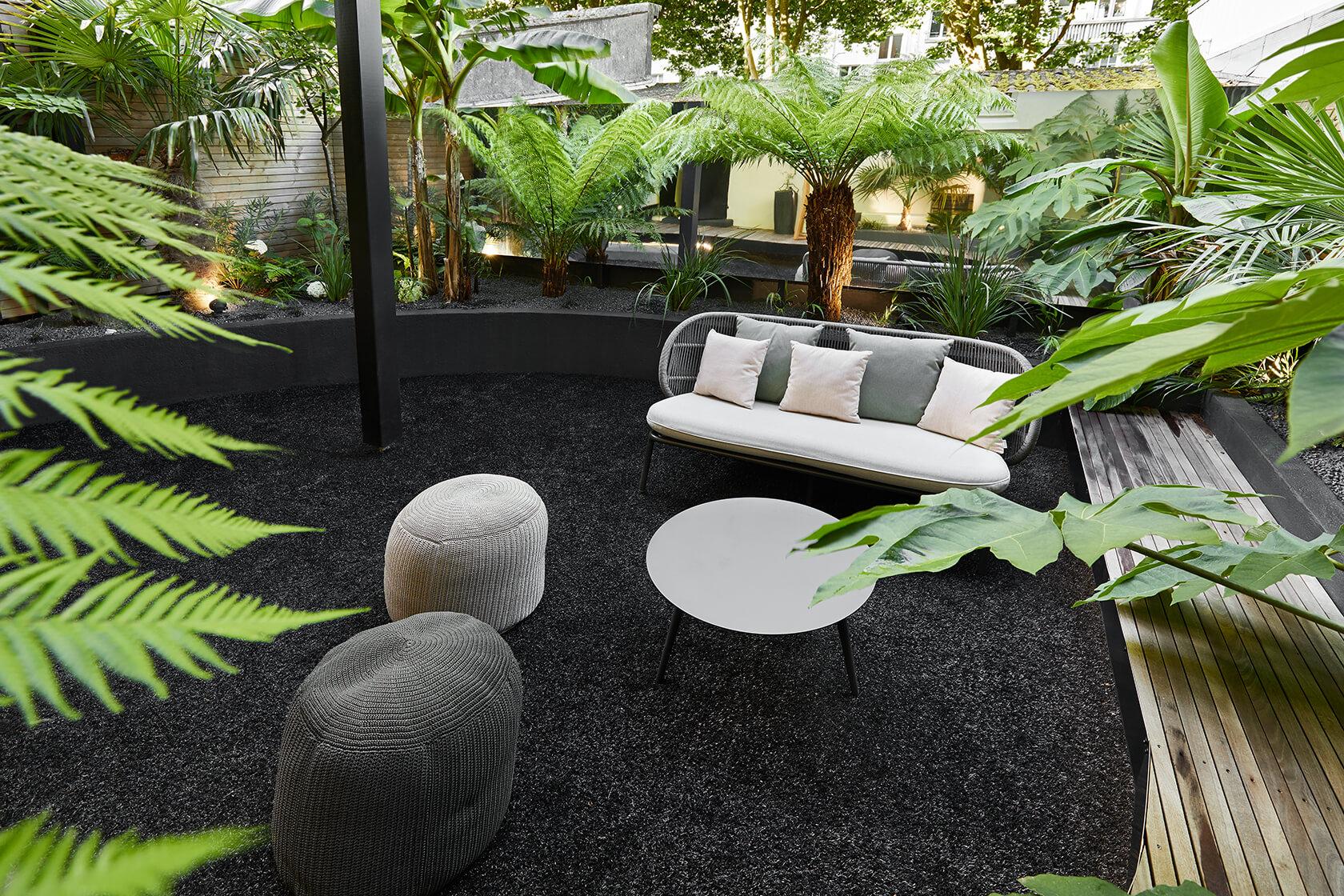 jardin noir
